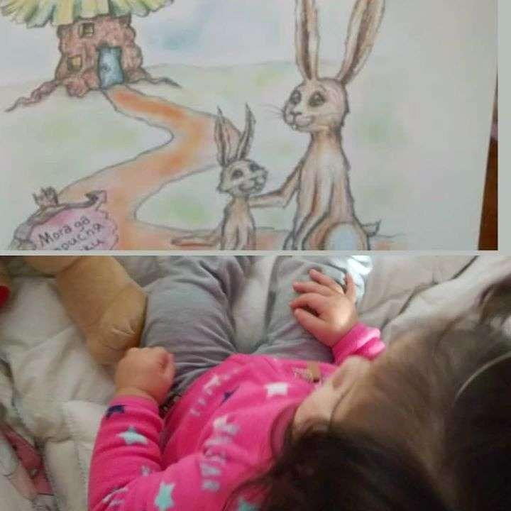 Зайчето, което иска иска да заспи срещу бебето, което не иска…