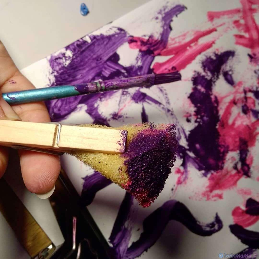 Импровизирани четки за рисуване