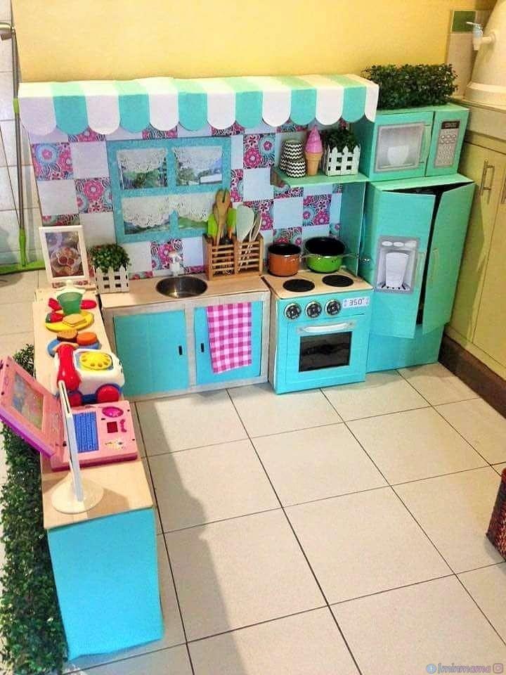 6 идеи как да направим детска кухня от неща, които вече имаме (с инструкции)