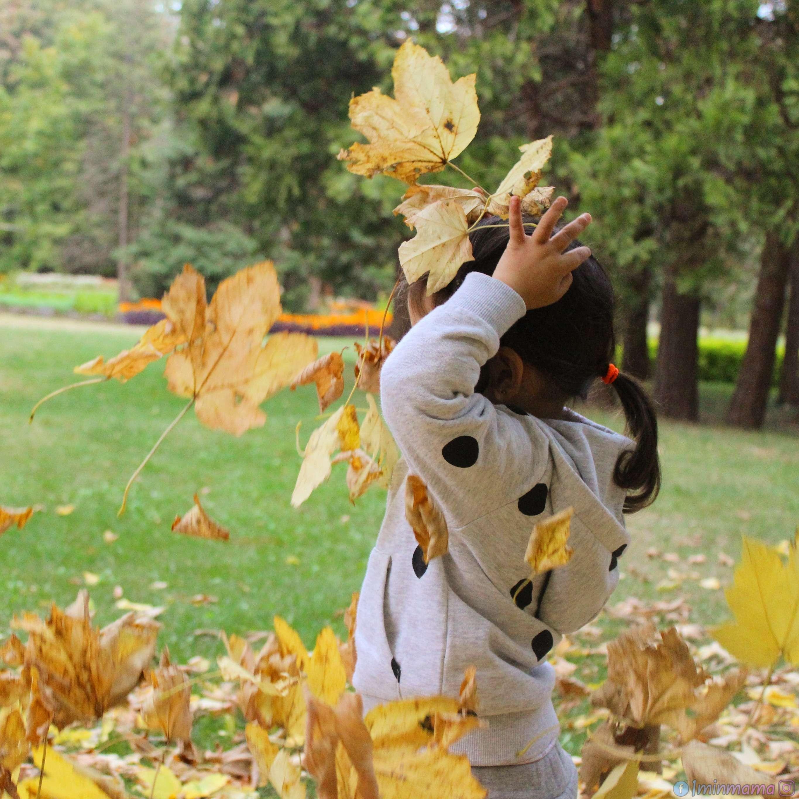 18 идеи за есенни игри навън