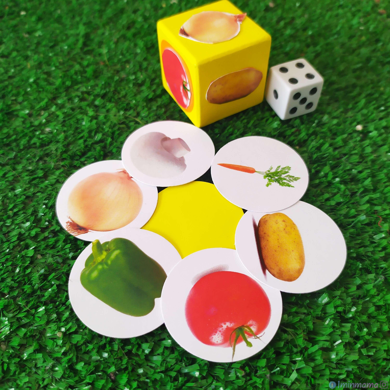 """Безплатна настолна игра за разпечатване """"Готвя и броя"""" – 6 игри в 1"""