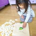 Как да научим детето да реди многослойни пъзели?