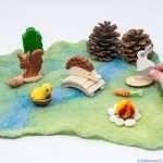 Игра сред природата и с природни материали - как тя стимулира сетивността при децата