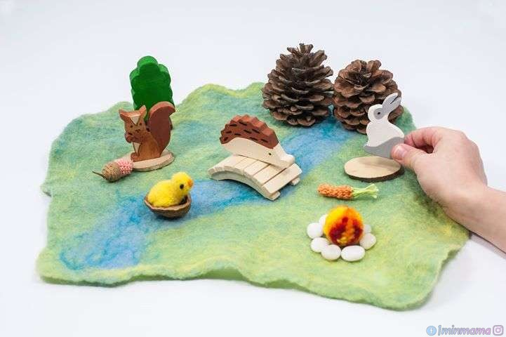 Игра сред природата и с природни материали – как тя стимулира сетивността при децата